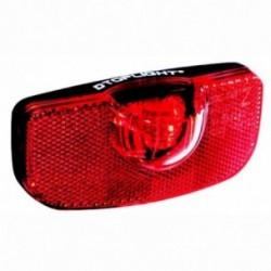 Busch & Müller, Impianto illuminazione, fanalino posteriore a diodi, D-TOPLIGHT permanent, per il montaggio al portapacchi, dist