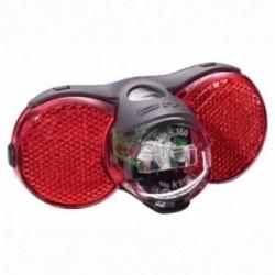 Busch & Müller, Impianto illuminazione, fanalino posteriore a diodi, D-TOPLIGHT XS permanent, protezione contro umidità e colpi