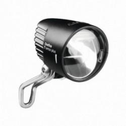 Busch & Müller, Impianto illuminazione, faretto dinamo anteriore, LUMOTEC IQ ONEFIVE T senso plus, 30 Lux, colore: nero, illumin
