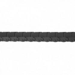 """M-WAVE, Paracatena, Chain Cage, colore nero, per catene da 1/2""""x1/8"""" senza deragliatore posteriore, 120 link, protezione catene"""