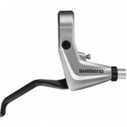 Leva freno a disco meccanico Shimano ALIVIO BL-T4000 V-Brake argento