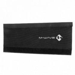 M-WAVE, Paracatena, Protecto, colore nero, in neoprene, 260x100-130mm