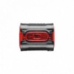 Luce posteriore Busch & Muller a diodi IXBACK Senso LineTec con indicatore di stato batteria