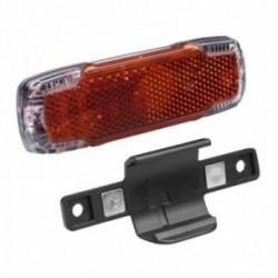 Busch & Müller, Impianto illuminazione, fanalino posteriore a diodi, TOPLIGHT 2C permanent, 2 LED ad alta prestazione, tecnologi