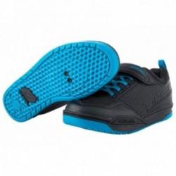 O'Neal, Abbigliamento, Scarpe, FLOW SPD, Misura: 42, colore: nero/blu, SPD-compatibili