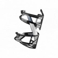 ELITE, Portaborraccia, PRISM LEFT, nero lucido/bianco, diametro: 74mm, materiale: fibra di vetro