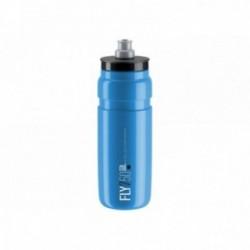 ELITE, Borraccia, FLY LIGHT BLUE, 550ml, hellblu, neroe graphic, BPA-free, la borraccia più leggera del mondo con getto d'acqua