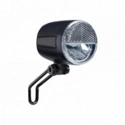 Luce anteriore Buchel Sport Pro 45 Lux con sensore e funzione di luce di posizione nero