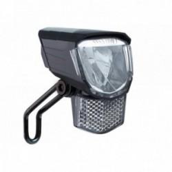 Büchel, Impianto illuminazione, Tour, faretto anteriore a LED, 45 Lux, E-Bike 6V, con protezione sovravoltaggio, supporto in acc