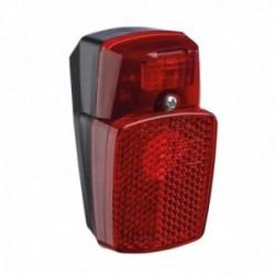 Luce posteriore dinamo Buchel Z-FIRE per parafanghi con catadiottro a Z e condensatore
