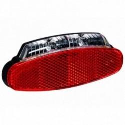 Luce posteriore dinamo Buchel BROADWAY per portapacchi con Z-Reflector