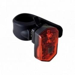 Büchel, Impianto illuminazione, Micro Light, fanalino posteriore a LED, con batteria ricaricabile agli ioni di litio integrata (