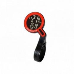 Cat Eye, Computerini, Quick, colore: nero/rosso, wireless, trasmissione wireless analogica senza interferenze, 8 funzioni, Batte