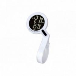 Cat Eye, Computerini, Quick, colore: bianco, wireless, trasmissione wireless analogica senza interferenze, 8 funzioni, Batterie: