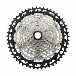 Pacco pignoni Shimano XT CS-M8100 12 velocità 10-51 denti silver