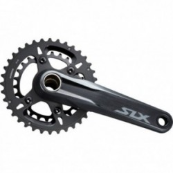 Guarnitura Shimano SLX FC-M7100-2 2x12 velocità 175mm 36-26 denti Hollowtech II nero