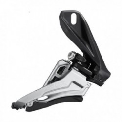 Shimano, Deragliatore anteriore, SLX, FD-M7100-D, 2x12-vel., MTB, Side Swing, Front-Pull, Direct Mount (alto), 66-69°, corona ma