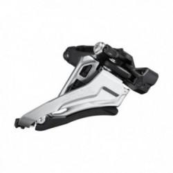 Deragliatore anteriore Shimano SLX FD-M7100-M 2x12 velocità SideSwing FrontPull 36-38 denti nero