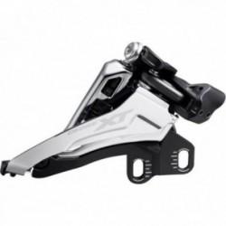 Deragliatore anteriore Shimano DEORE XT FD-M8100-E 2x12 velocità SideSwing FrontPull DirectMount nero