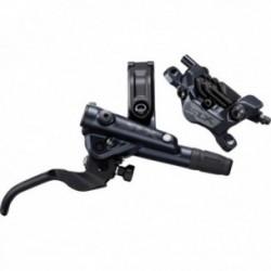 Freno a disco idraulico posteriore Shimano SLX M7100/M7120 4 pistoni con sistema di raffreddamento nero