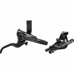 Freno a disco idraulico posteriore Shimano DEORE XT M8100 con sistema di raffreddamento nero
