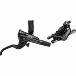Freno a disco idraulico posteriore Shimano DEORE XT M8100/M8120 con sistema di raffreddamento nero
