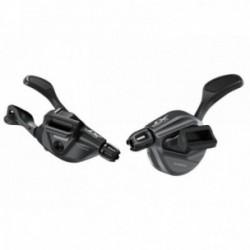Comandi cambio destra e sinistra Shimano DEORE XT SL-M8100-I 2x12 velocità I-SpecEv nero
