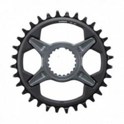 Shimano, Corona, SLX, SM-CRM75, 32 denti, 12-vel., Direct Mount, compatibile con: FC-M7100, FC-M7120 und FC-M7130, nero, conf. o
