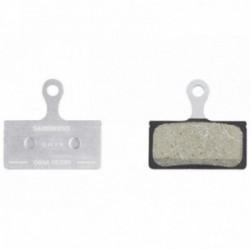 Shimano, Pastiglie e ricambi pattino, disc, Deore XT / XTR XC, pastiglia in resina G03A (supporto in alluminio), buona dosabilit