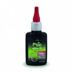 F100 Cura della bici di alta qualità, olio catena E-Bike, 50ml, in bottiglietta, NUOVA FORMULA
