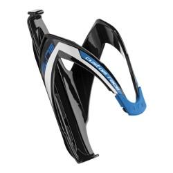 ELITE, Portaborraccia, CUSTOM RACE, nero lucido/blu, diametro: 74mm, materiale: materiale fibrorinforzato