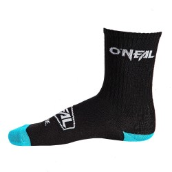 O'Neal, Calze, Crew Sock Icon, colore: nero/blu, misura: 43-46