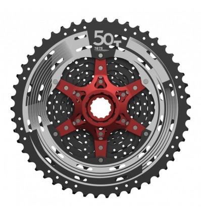 Pacco pignoni 11 velocità SunRace MX8 11-46 Silver