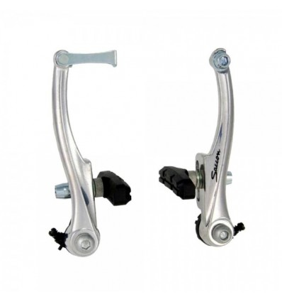 MVTEK Freno V-BRAKE 102mm Olanda Silver