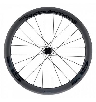 DEDA-ELEMENTI Ruota Posteriore 28 SL48C Cerchio Carbon Altezza 48mm 24raggi POB
