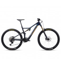 Bici Elettrica Orbea RISE M10 2021 Carbon + Reggisella Fox Transfer Factory Kashima