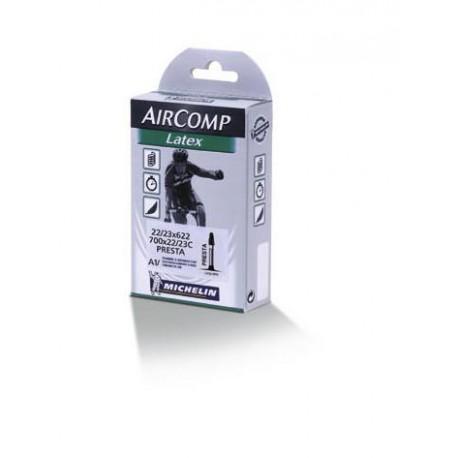 Camera d'aria Michelin Aircomp Latex A1 RACE 22/23-622
