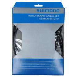 Shimano Road Set guaine e cavi freno nero
