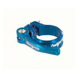 Collarino Reggisella Hope azzurro 34,9 mm con leva