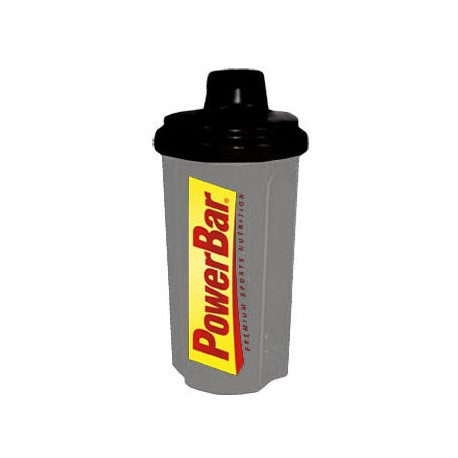 Borraccia PowerBar Shaker 700ml grey