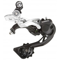 Cambio Shimano XT 10-speed RD-M786 GS Shadow+ silver