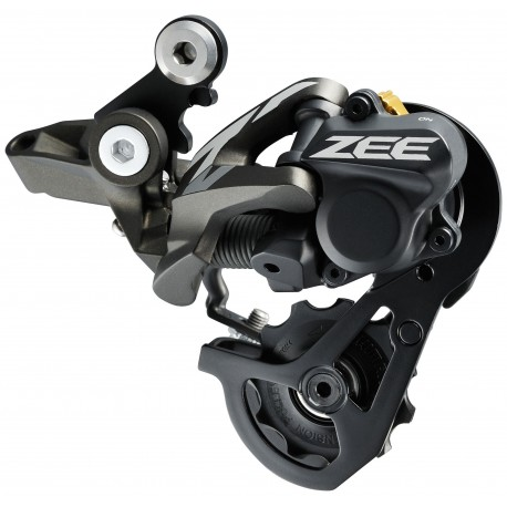 Cambio Shimano ZEE 10-speed rear derailleur RD-M640-SS Shadow Plus 11-23 / 11-28T