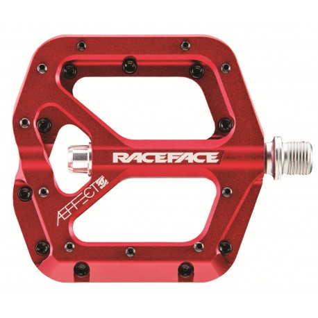Pedali Flat Race Face Aeffect red