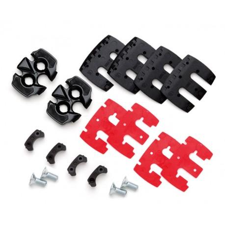 Tacchette Look DCS - S-Track System Easy soft / medium black