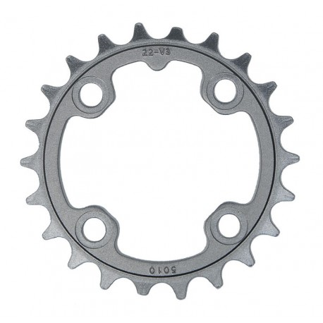 Corona 9 velocità Truvativ 22 d 64mm aluminium grigio