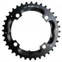 Corona 10 velocità Truvativ 36T 2x10 104mm black