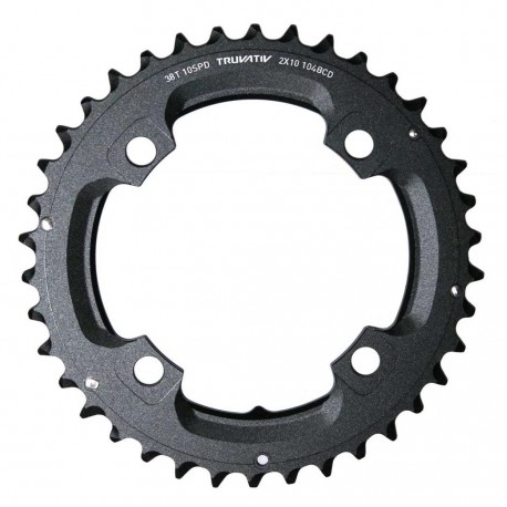 Corona 10 velocità Truvativ 38T 2x10 104mm black