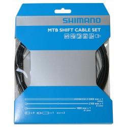 Set cavi e guaine Cambio Shimano MTB SIS-SP41 black