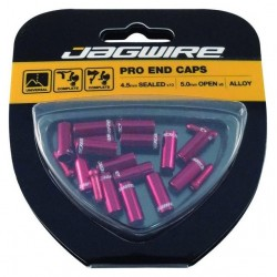 Jagwire Universal Pro End Cap Kit 4,5mm red