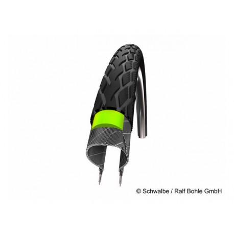 """Pneumatico Rigido Schwalbe Marathon 28"""" 37-622 Reflex Green Guard 28 x 1,40 """""""
